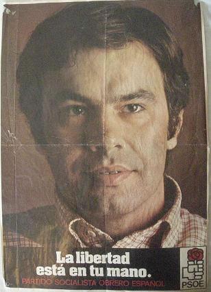 Cartel PSOE. 1977
