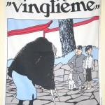 Poster de tela Tintín