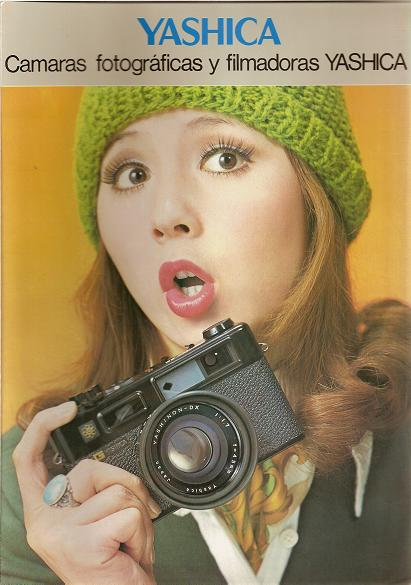 camaras y filmadoras yashica
