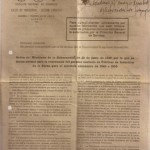 Sindicato Nacional de Ganadería, Circular Nº 1 A, Madrid 22 de a