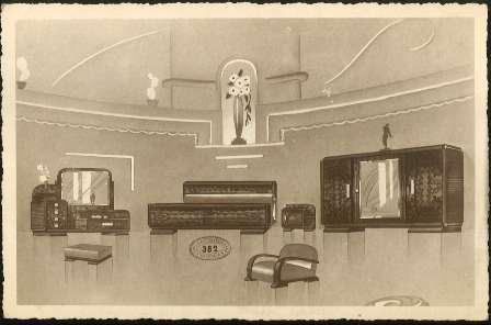 Foto Postal de muebles Emilio Martínez Escribano Valencia nº 362