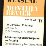 Revista Mensual, Monthly Review, 11, mayo 1978
