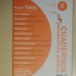 Faes cuadernos de pensamiento politico, octubre diciembre 2005