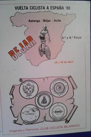 vuelta ciclista a españa 89