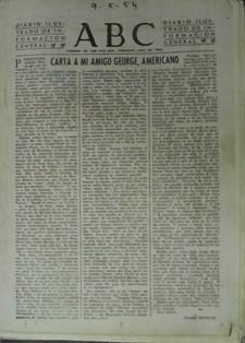 ABC CARTA A MI AMIGO GEORGE