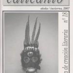 Calicanto, otoño invierno 2007. Revista de creación literaria nº