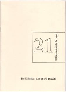 Col.lección poesía de paper, nº 21