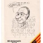 Pegatina, 60 Aniversario PCE. 001
