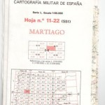 Cartografía Militar de España Escala 1 50.000, Martiago